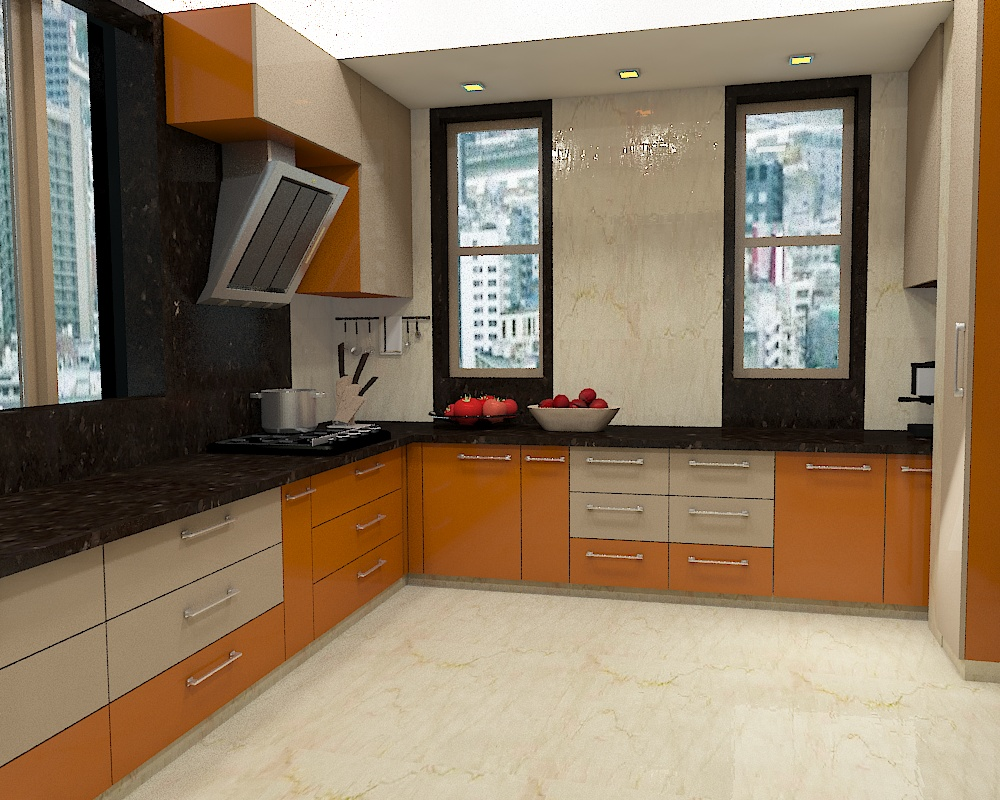 how interior design can make a small kitchen feel more spacious